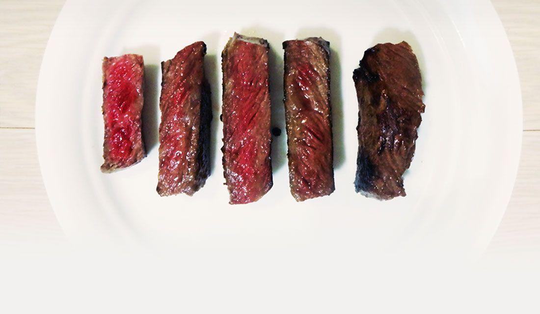 고기의 익힌 정도